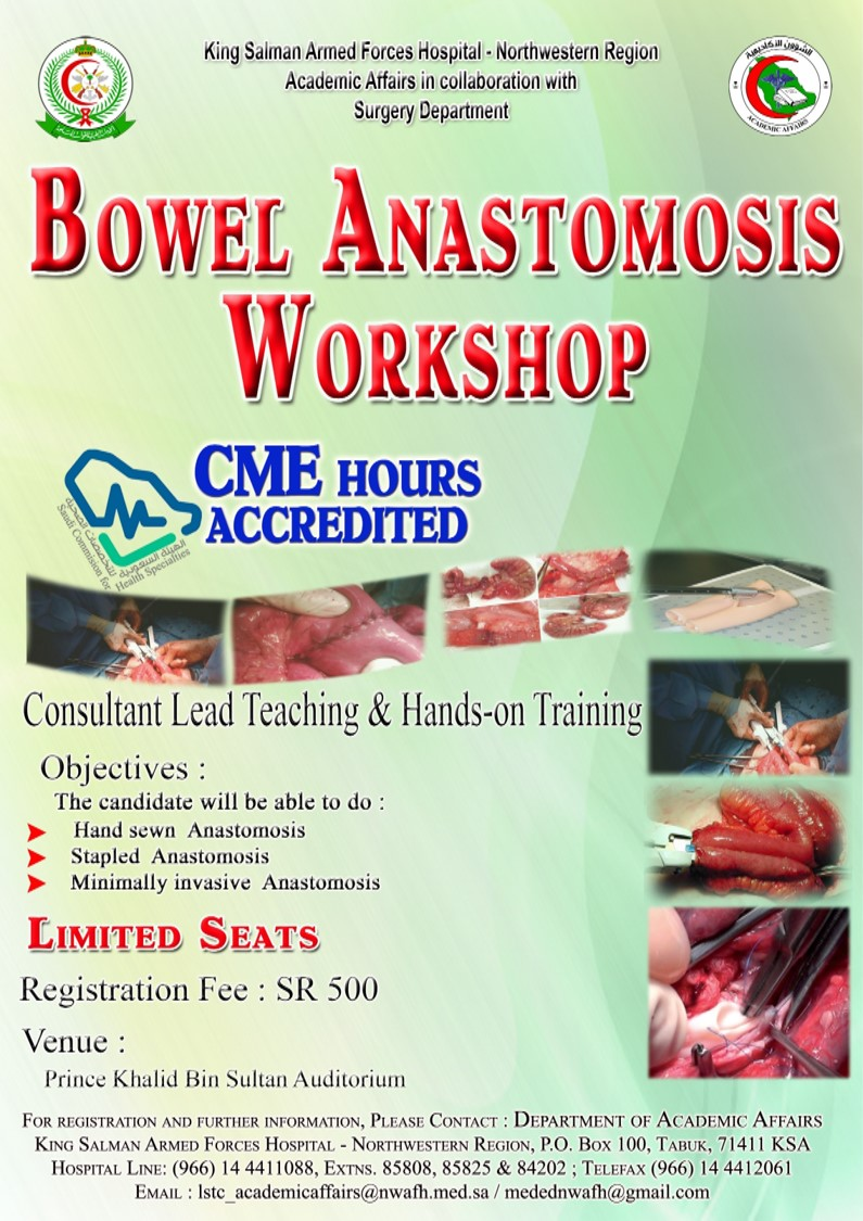 bowel anasthemosis workshop