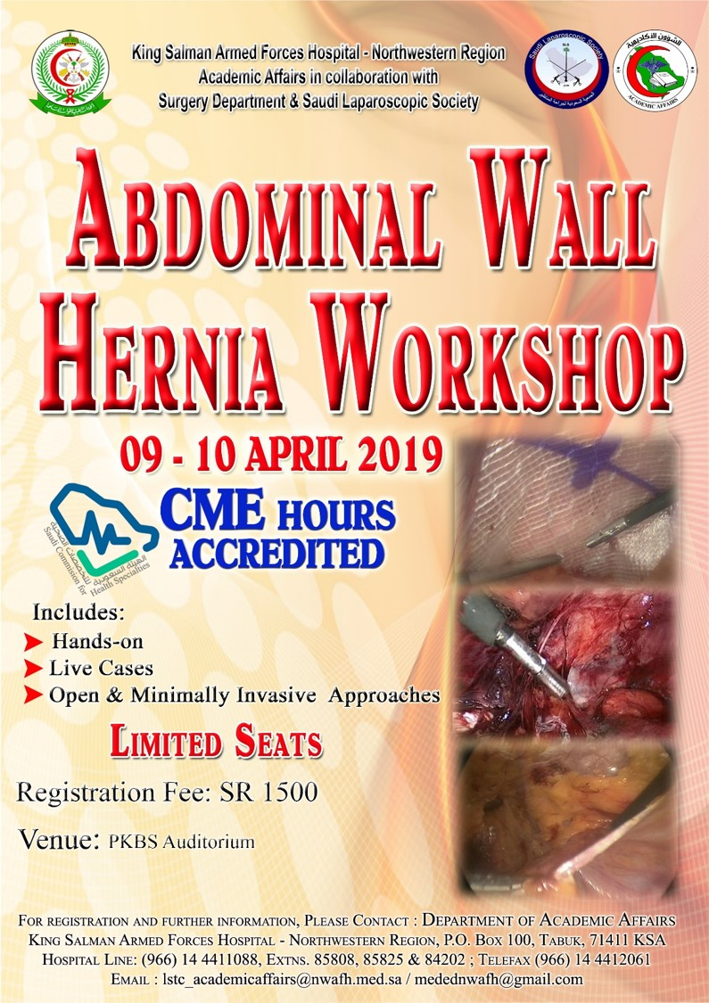hernia Surgery workshop 2019